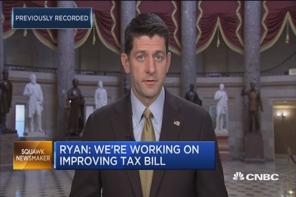 Rep. Paul Ryan: Tax inversions will 'take off' if we don't cut corporate taxes