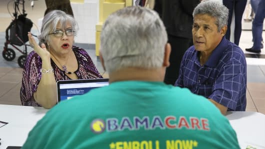 Nearly 1.5 million people signed up for Obamacare plans so far