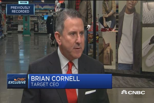 Target CEO: We feel really good about store performance