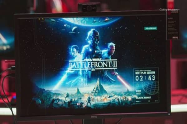 Wall Street is getting worried social media outrage over EA's 'Star Wars' game may hurt sales