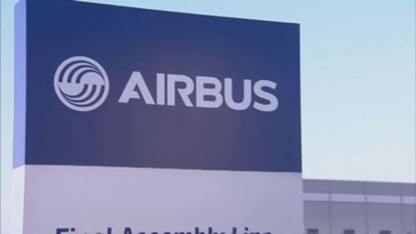 US private equity firm places near $50 billion jet order with Airbus