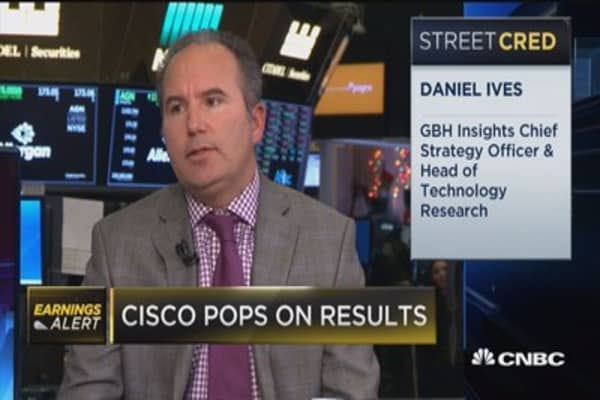 This is a step in right direction for Cisco: GBH's Daniel Ives