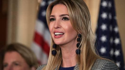 Ivanka Trump, adviser and daughter of President Donald Trump
