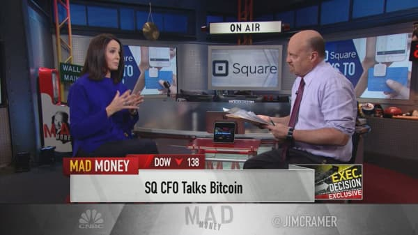 Square CFO: We're experimenting with bitcoin to see if it's 'real'
