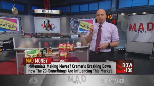 Cramer: If companies embrace the change millennials demand, they'll win long term