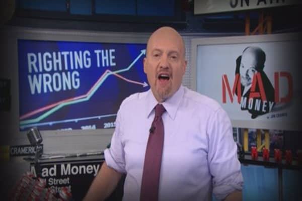 Cramer Remix: Investors should take shelter in Home Depot's stock despite today's action