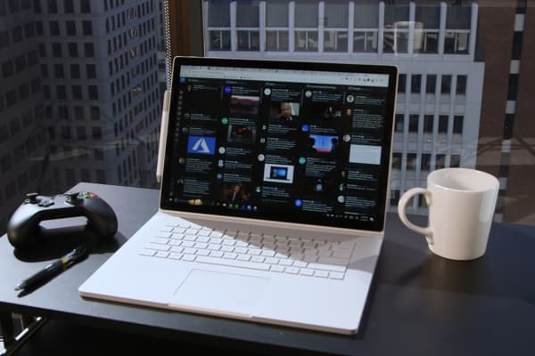 The Surface Book 2 has a magnesium base, just like the original version.