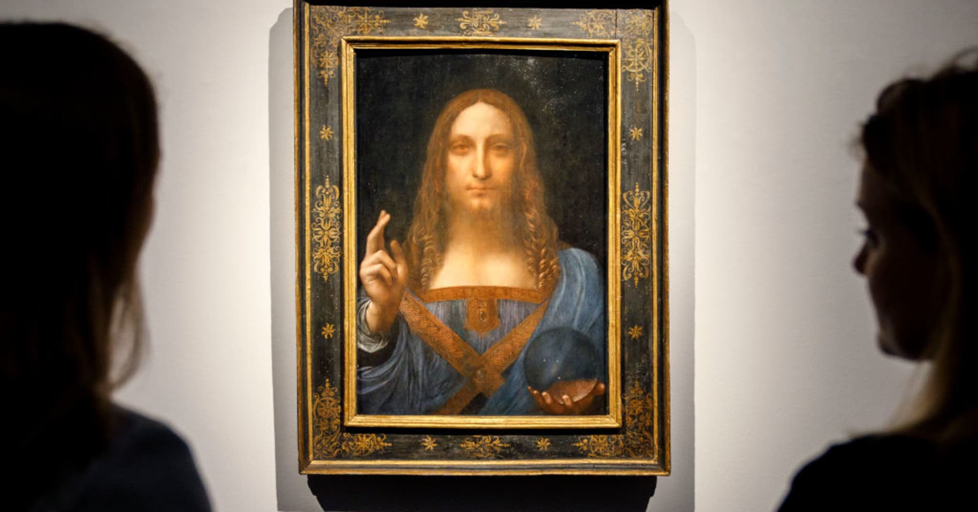 Leonardo da Vinci painting sells for more than $450 million, breaking all-time art auction record