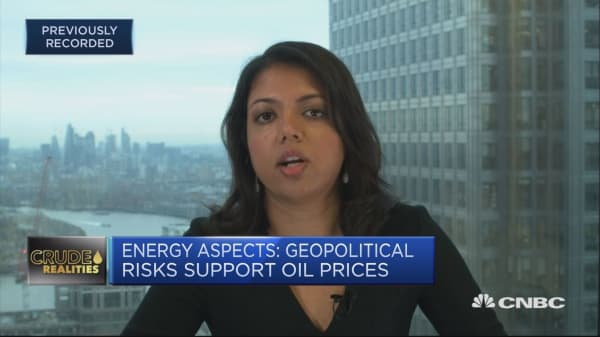 Geopolitical risks support oil prices, analyst says