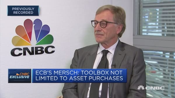 ECB's Mersch says toolbox is not limit to asset purchases