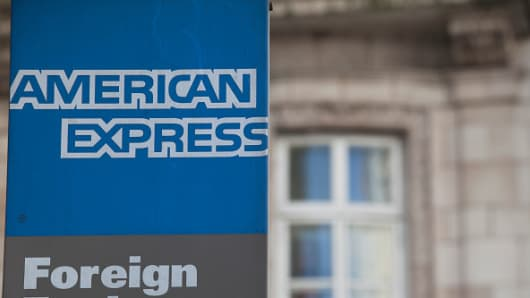 American Express Foreign Exchange store