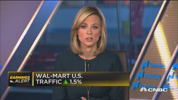 Wal-Mart beats Street expectations