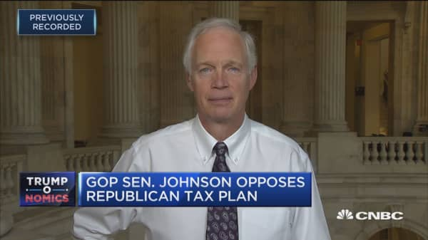 Sen. Ron Johnson: Let's 'fix' GOP tax bill