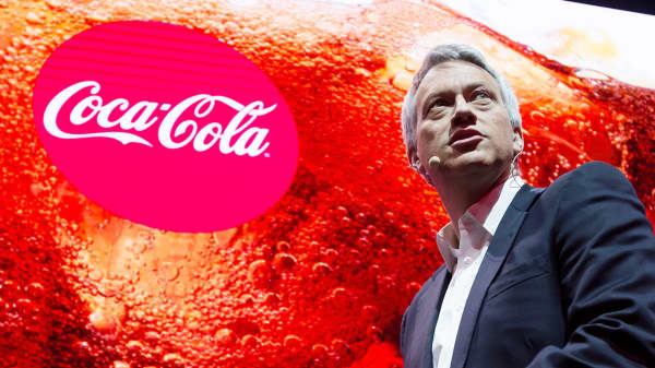James Quincey, CEO of Coca-Cola.