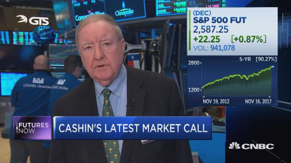 Art Cashin sees 'trouble' brewing in stock market