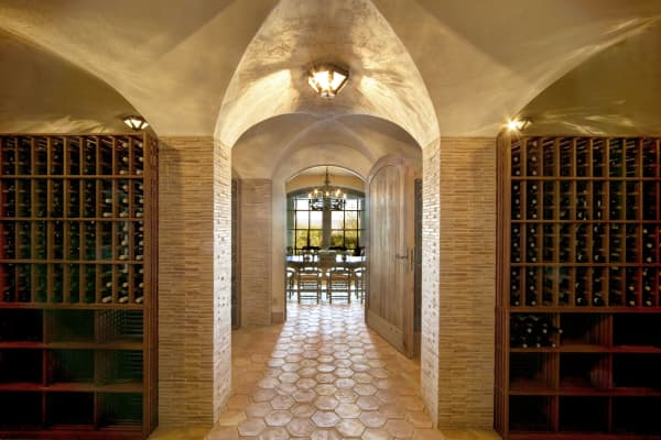 Wine cellar that can hold 4,200 bottles