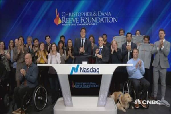 Will Reeve, son of Christopher & Dana Reeve, celebrate his parents' legacy