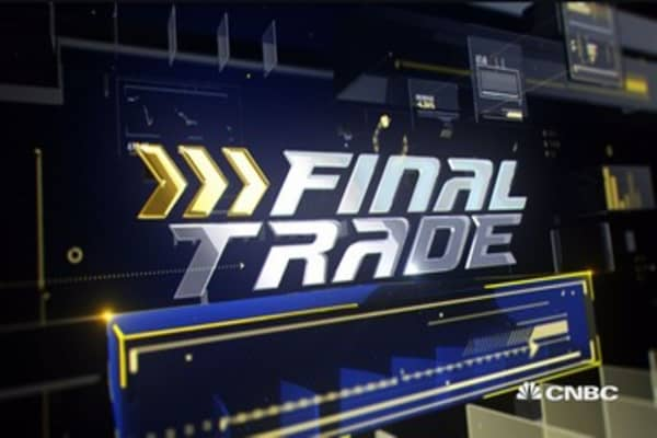 Fast Money Final Trade: XOP, PHM and more