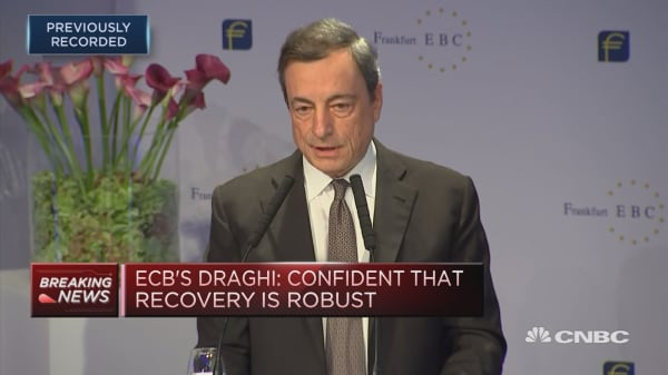 Need patience and persistent approach to monetary policy: ECB's Draghi