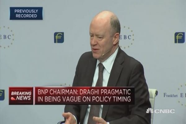 Deutsche Bank CEO: Deliberately exposed to interest rates
