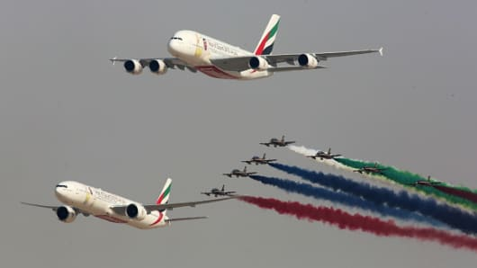 15th Dubai Airshow reaches order book of 113.8 billion USA  dollars
