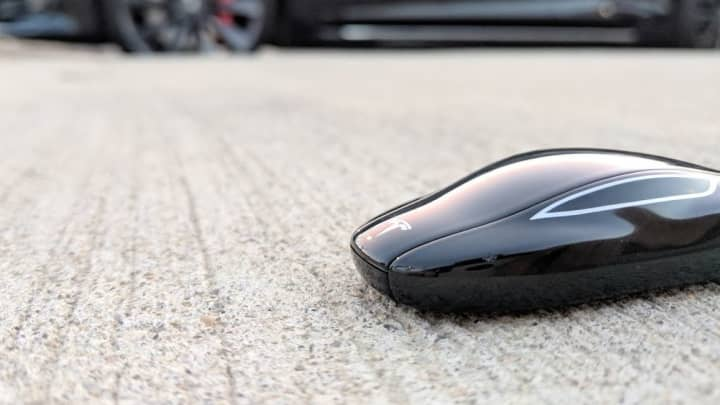 Tesla's awesome key fob