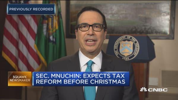 Mnuchin pitches small biz on GOP tax reform