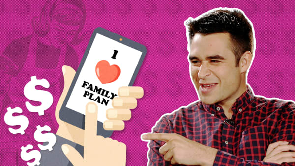 When should you get off of your family's phone plan?
