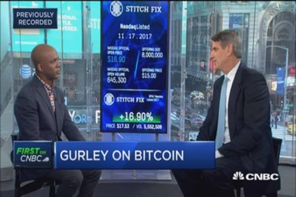 Bitcoin is an incredible store of value for the rest of the world: Benchmark Capital's Bill Gurley