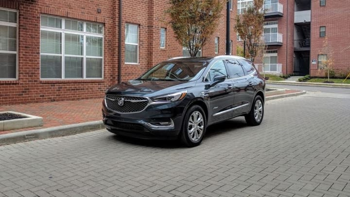 The 2018 Buick Enclave Avenir