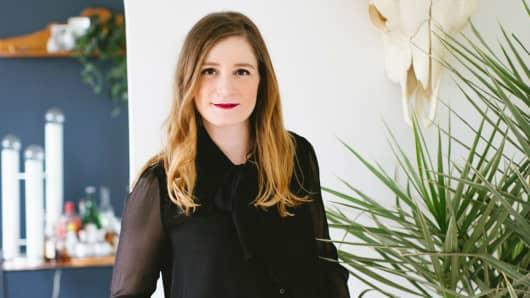 Joanna Hawley of Jojotastic at home in Seattle, Washington.