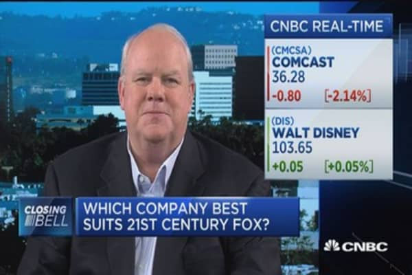 Who's the best suitor for Fox: Disney or Comcast?