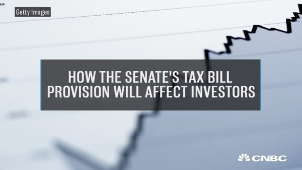 Tim Steffen discusses the Senate Tax Bill Provision