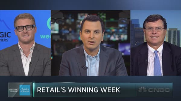 Back in fashion? Retail stocks just posted their best week of the year