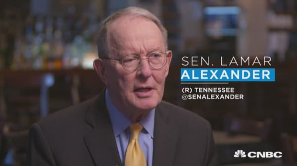 Sen. Lamar Alexander: I like GOP majority, but problems need to be resolved