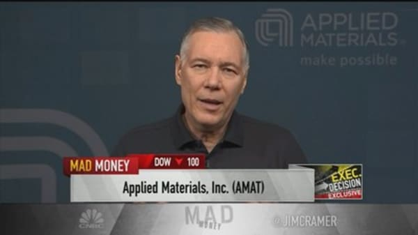 Applied Materials CEO: 'The future of competition' fueling our business