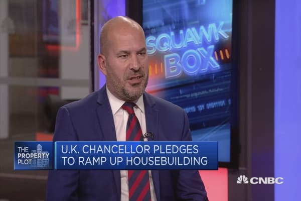 Expect UK finance minister to move towards supply side measures on housing