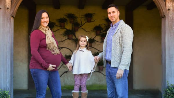 Four cycles of IVF, two miscarriages and $40,000: One couple's infertility story