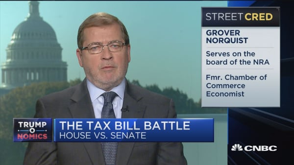 House and Senate tax bill 'mesh very easily': Grover Norquist
