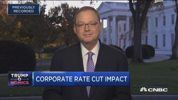 CEA's Kevin Hassett on GOP tax bill
