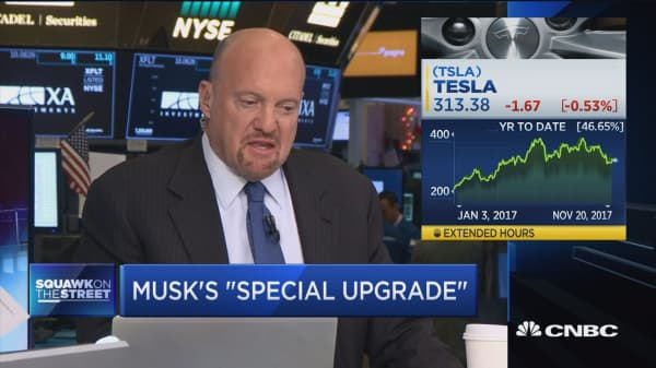 Elon Musk has 'big ideas' even the possibility of a flying car :Jim Cramer