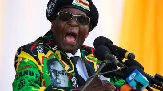 Zimbabwe Protest: Thousands Calls for Mugabe to step Down