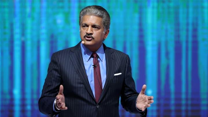 Anand Mahindra, chairman of Mahindra & Mahindra Ltd.