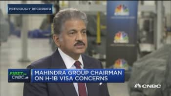 Mahindra Group chairman: Why we're expanding in the US