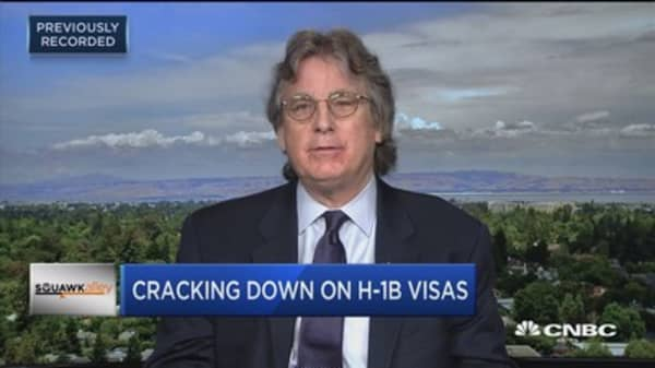 Elevation Partners' McNamee on visas: We have a shortage of skilled workers
