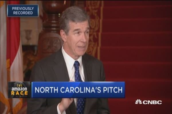 North Carolina Gov. Roy Cooper: We have the workforce and talent Amazon needs