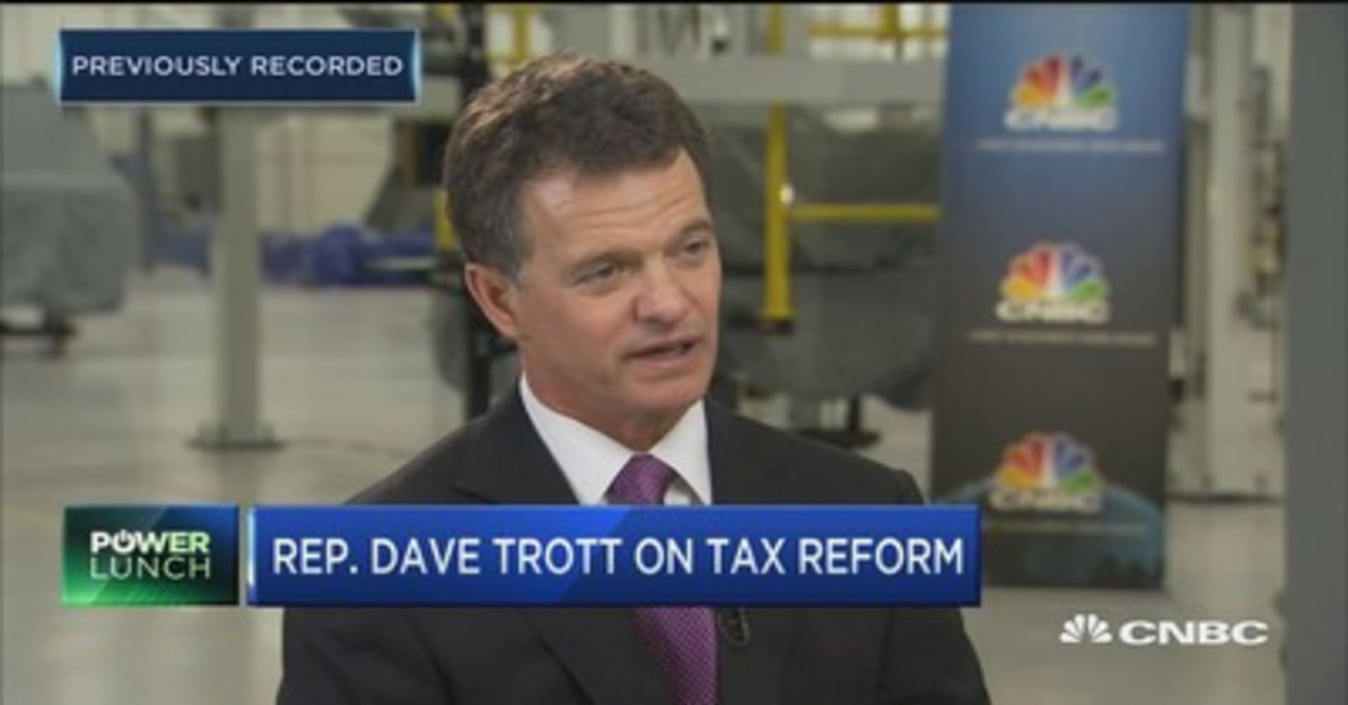 Rep. Dave Trott: 80% chance tax reform gets done by end of the year