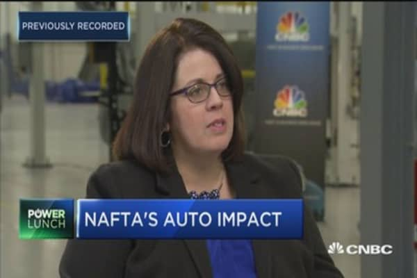 Expert: 'A pretty big deal' for automakers if US leaves NAFTA