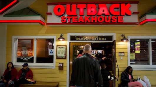 Image result for Outback Steakhouse Owner Bloomin' Brands Jumps On Jana Stake