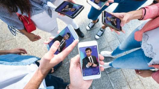 Trivia app HQ Trivia streams live games every day at 9 p.m. ET, as well as at 3 p.m. ET on weekdays.